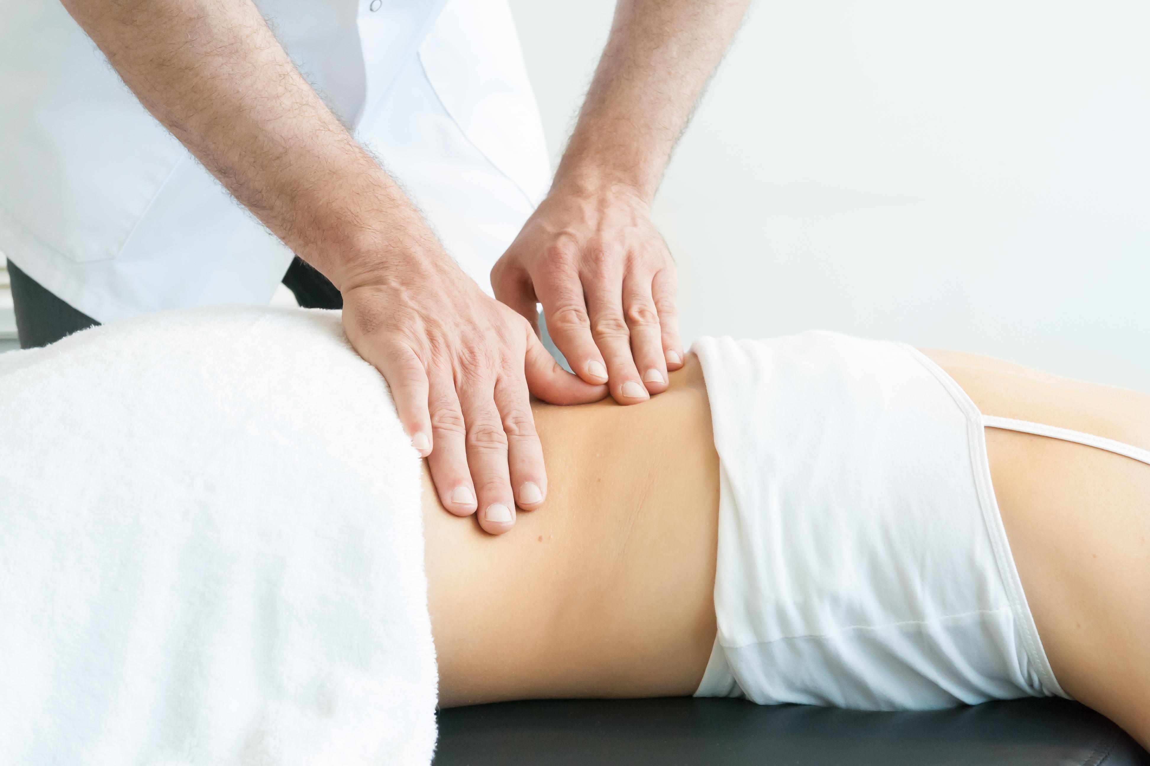 Manieren van behandelen massage